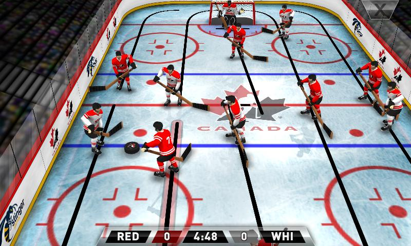Team Canada Table Hockey- screenshot