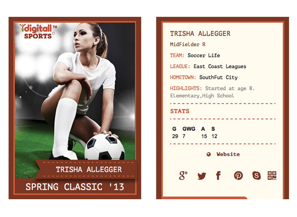 iDigitallSports Trading Card- screenshot