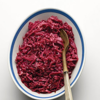 Bette's Braised Red Cabbage with Apple.