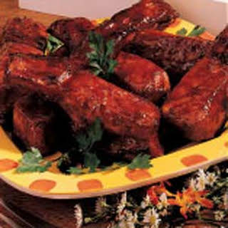 Honey Baked Ribs.