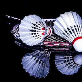 Property of Badminton by Faizal Djau - Artistic Objects Still Life ( shuttlecock, badminton, still life )