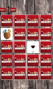 Pub Memory Game - screenshot thumbnail