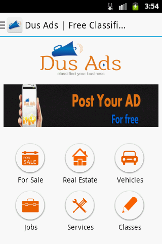 Dus Ads Free Classifieds