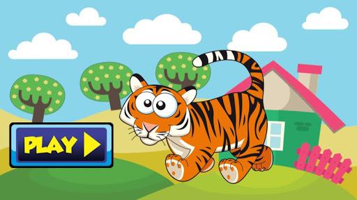 Tiger Kid Math Preschool Child