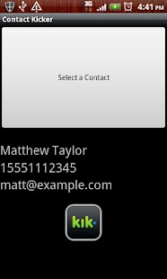 ContactKicker - screenshot thumbnail