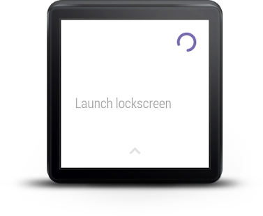 Showear: Android Wear Lock Screenshot 1