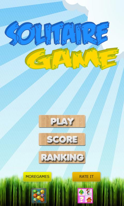 Solitaire Game- screenshot