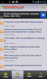 Ghana Radio Stations & News - screenshot thumbnail