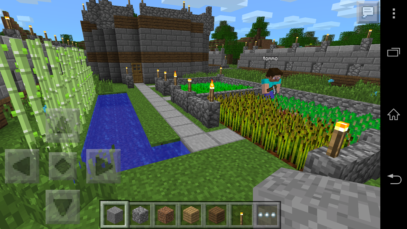 Minecraft pocket edition android apps on google play for Mine craft pocket addition