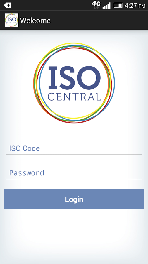 ISO Central- screenshot