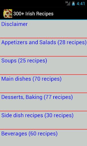 300+ Irish Recipes