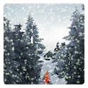 Winter Snowfall Live Wallpaper icon