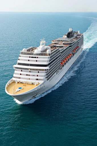 MSC-Magnifica-at-sea - Travel in style aboard MSC Magnifica. The ship sails to the Mediterranean, Northern Europe and South America.