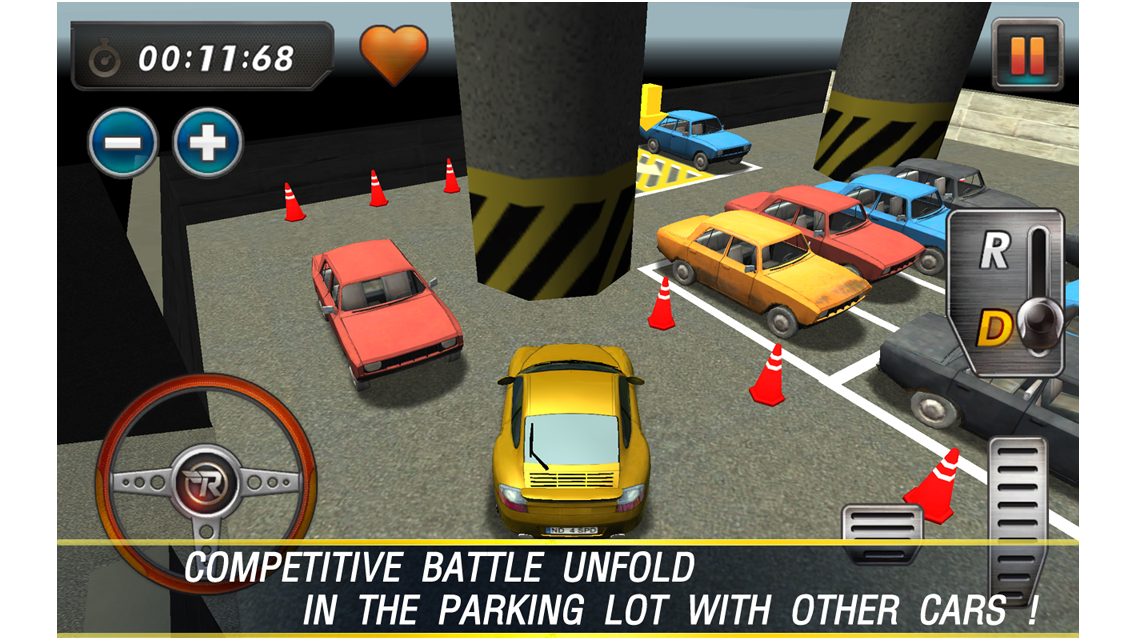 RealParking3D Parking Games- screenshot