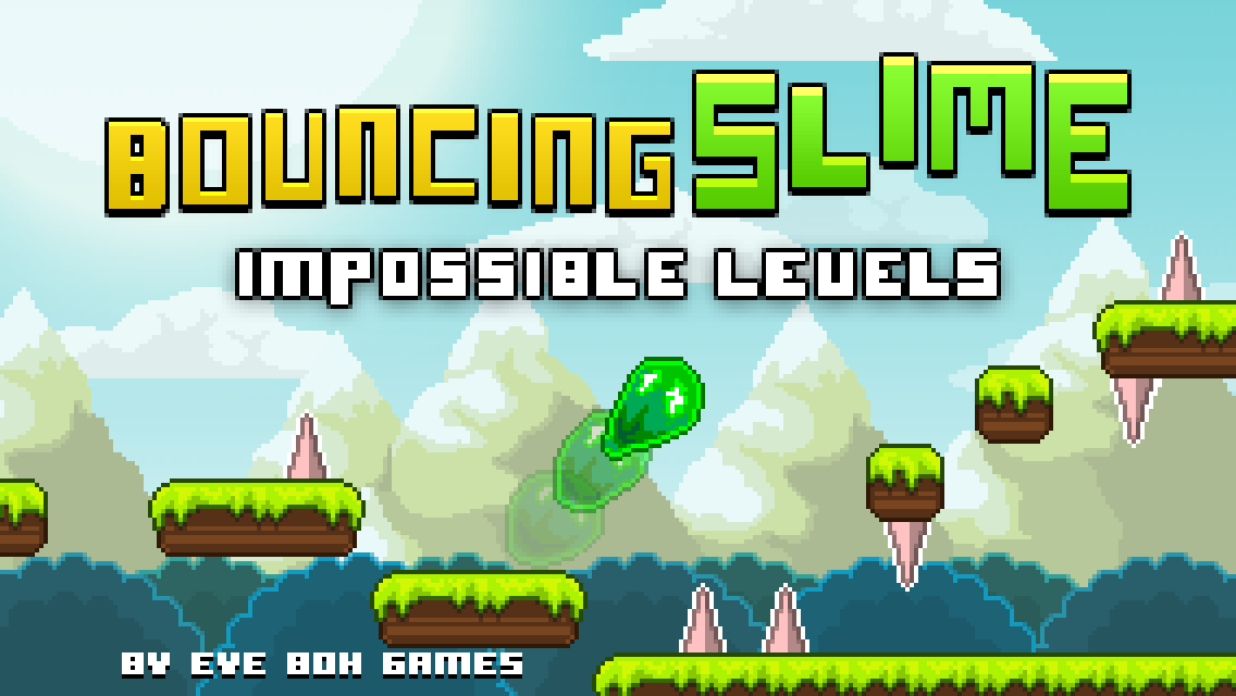 Bouncing Slime Impossible Game- screenshot