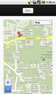 Campus Maps: UMD Edition screenshot