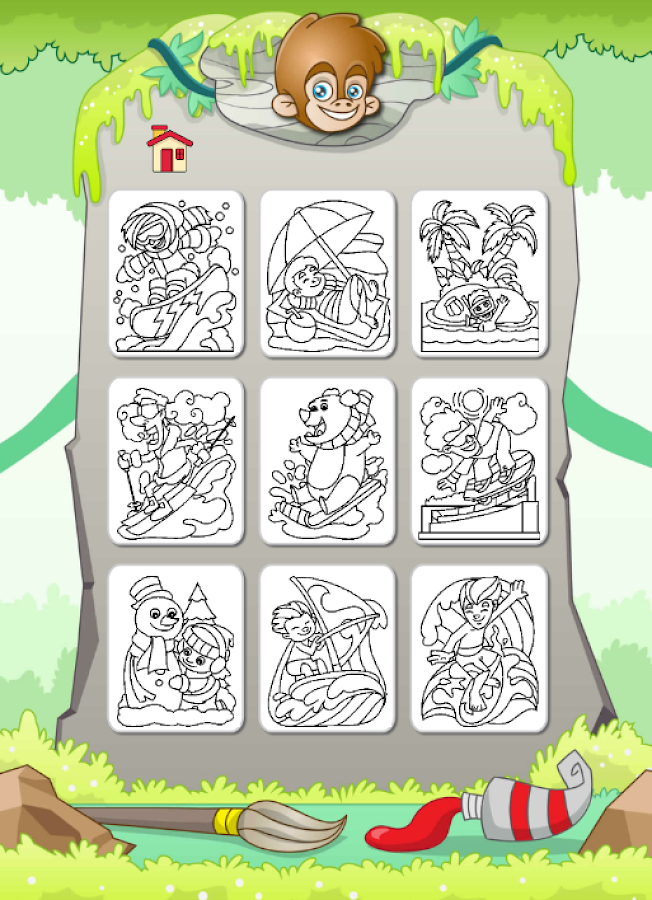 Painting: free game for kids - Android Apps on Google Play