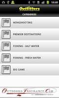 Screenshot of OUTFITTERS - Hunting & Fishing