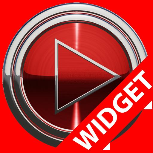 Poweramp widget - RED PLATIN 音樂 LOGO-玩APPs