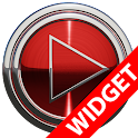 Poweramp widget - RED PLATIN icon