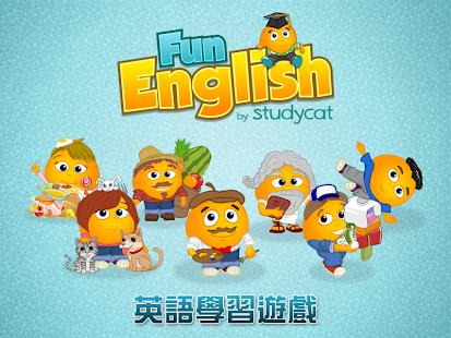 Fun English – 兒童英語學習遊戲