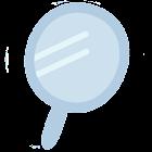 鏡 / ミラー / 手鏡 & 自画撮りカメラ icon