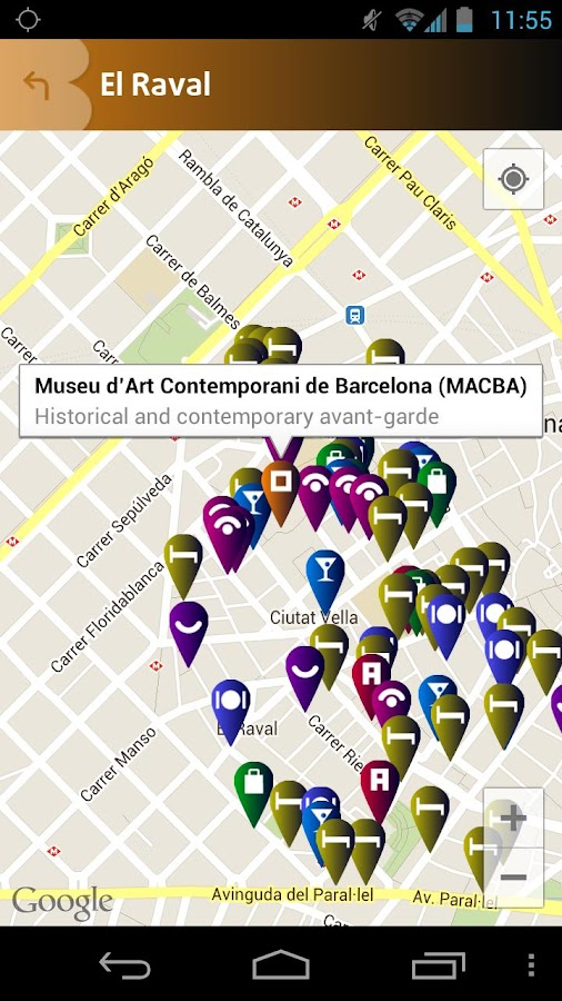 Barcelona Official Guide- screenshot