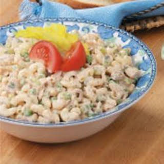 Tangy Tuna Macaroni Salad.