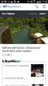 Repubblica.it Gear Fit screenshot 3