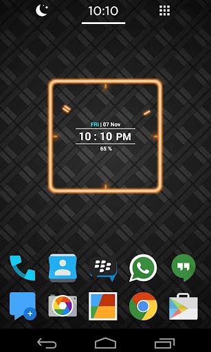 玩工具App|Neon Clock Widget免費|APP試玩