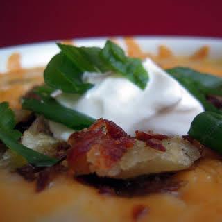 Unambigously Baked Baked Potato Soup.