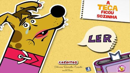 A Teca ficou sozinha- screenshot thumbnail