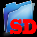 File explorer: SD card folder