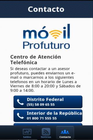 Profuturo Móvil - screenshot