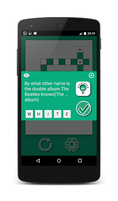 CRO: The crossword puzzle game - screenshot