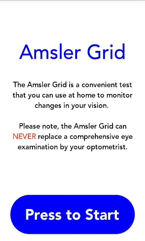Amsler Grid- screenshot