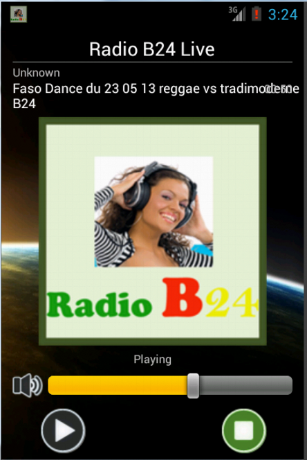 Radio B24- screenshot