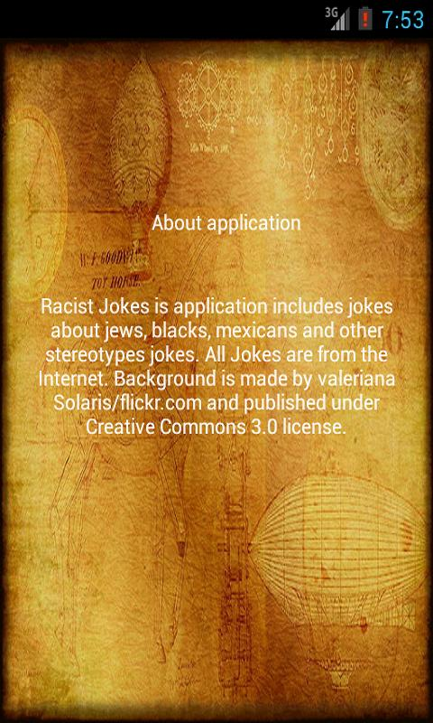 Racist Jokes - screenshot