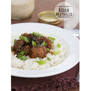 Slow Cooker Asian Meatballs.