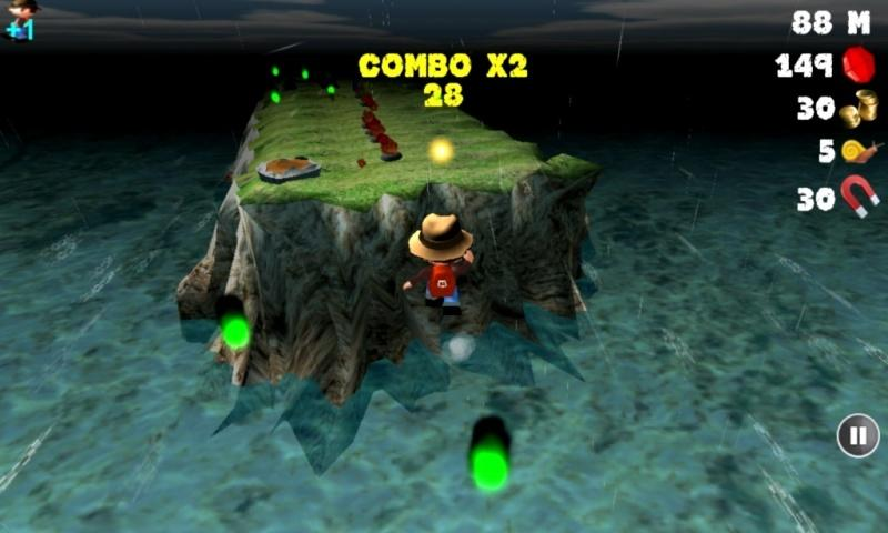 Treasure Run 3D- screenshot