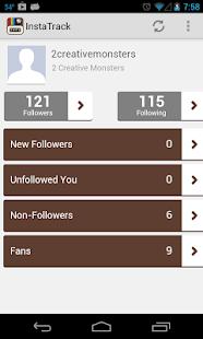 Follower Tracker for Instagram - screenshot thumbnail