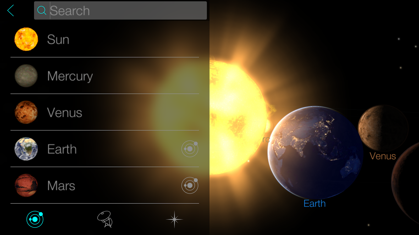 Solar Walk: Explore the Universe in Planetarium 3D- screenshot