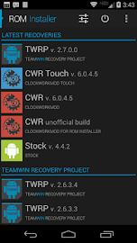 ROM Installer Screenshot 3