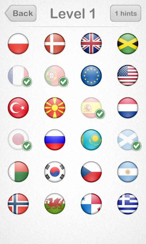 Logo Quiz: Flags Edition- screenshot