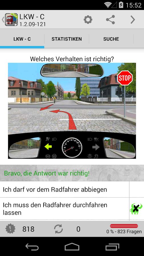 lkw f hrerschein klasse c android apps on google play. Black Bedroom Furniture Sets. Home Design Ideas
