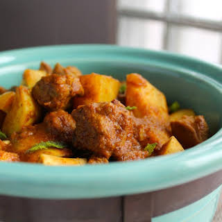 Spicy Lamb Curry.