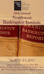 2013 NW Bankruptcy Institute - screenshot thumbnail
