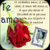Postales de Amor. Foto Selfie