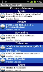 Calendario Feriados Argentina - screenshot thumbnail