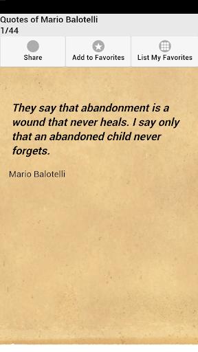 Quotes of Mario Balotelli